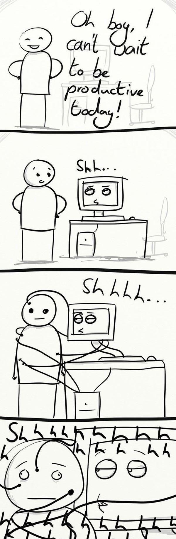 sleep is for the weak. .. Man, I wish my computer had hands! >.>