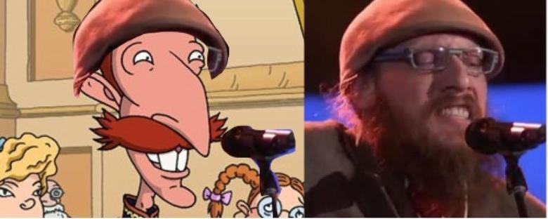 Smashing Similarities. . Nigel Thornberry