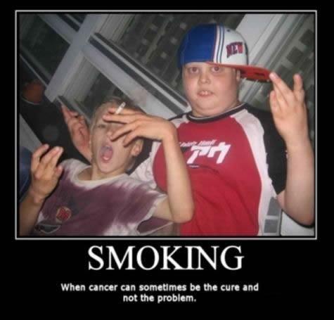 Smoking. i'm glad i dont.........