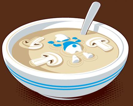 Smurf Soup. .
