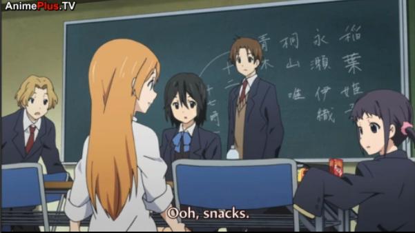 Snacks!. Hakkase in Kokoro Connect?!.