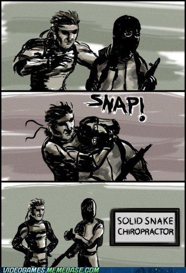 Snakes new job after he retired. sauce: . SOLID SHAKE TEHEEHEE HEM