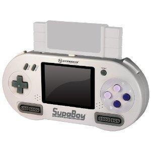 SNESP. a portable Super Nintendo... oh god I want one super Nintendo portable game system