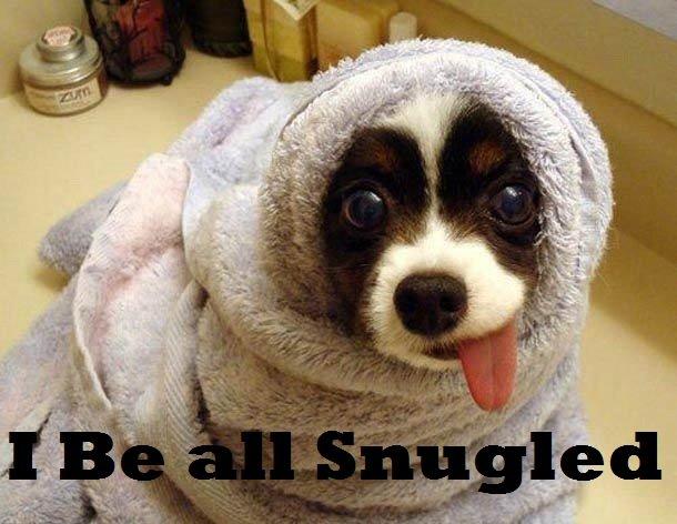 Snuggled. OC.. :P snuggle the game