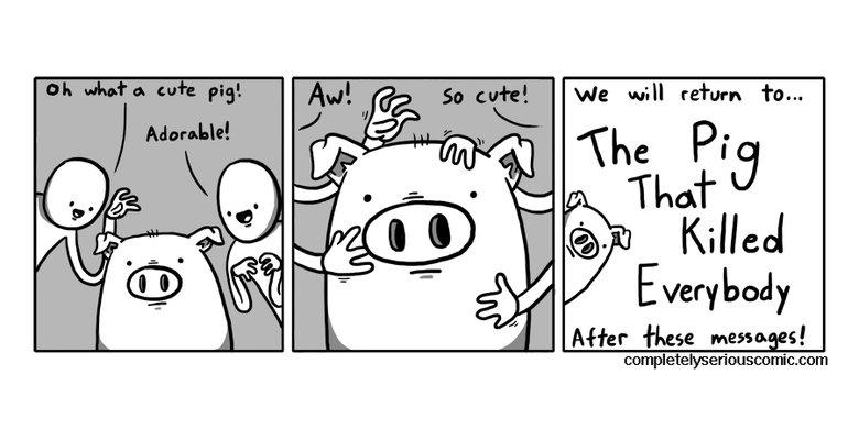 So cute. completelyseriouscomics.com. we will return 'ha... Mfer fixers manages!