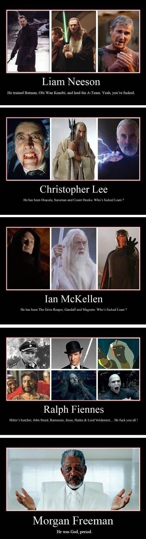 "So I hear Liam Neeson is a badass. mehh... Liam has had way more badass roles Taken? The Grey?. Liam Neeson Hr: tr, emerl Dnim, m, this Wan , nnd [ Luish. you'"""