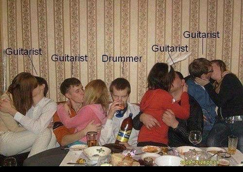 so i heard you were a drummer?. .. I call .