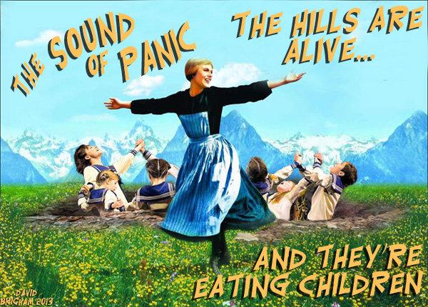 "So long, farewell, auf Wiedersehen.... ...Goodbye. Aka ""Springing the von Trapp"". Check out my other O.C. here on Funnyjunk. www.funnyjunk.com/user/ma David Brigham Marcus Rufus Com sound of music hills von Trapp"