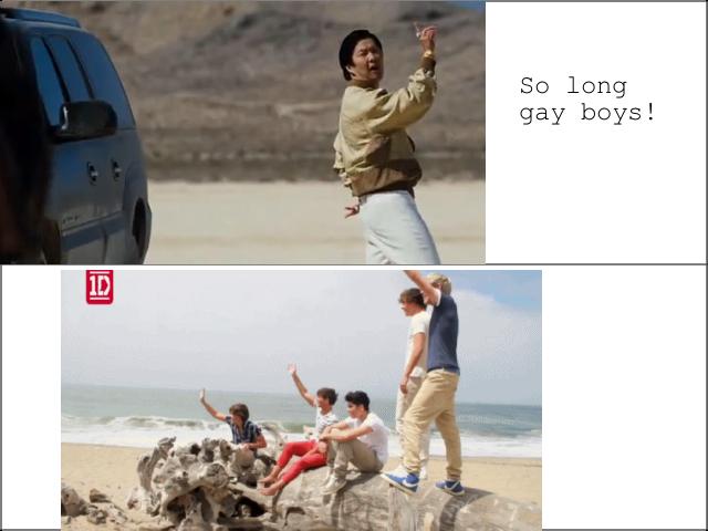 So Long Gay Boys!. .. Cya later! mr chow hangover