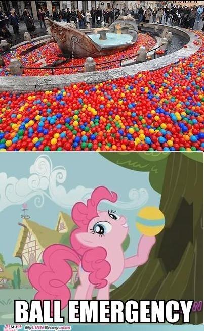 So many balls.. Op's happy..