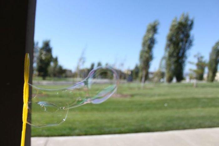 Soap bubble. dem bubbles.. the wands fw