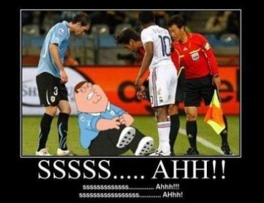 Soccer Players. Hehe true fact.....