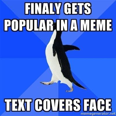 Socially awkward penguin. OC. Y GETS IN ll IVIE'S