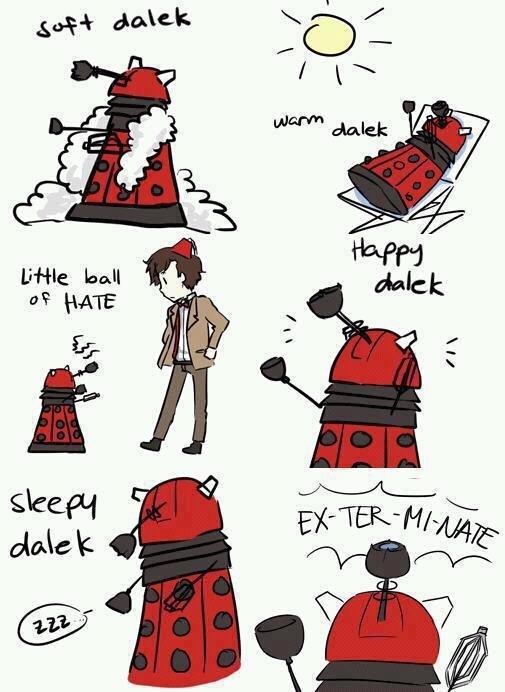 Soft Dalek. Warm Dalek credit to .. .gif version.
