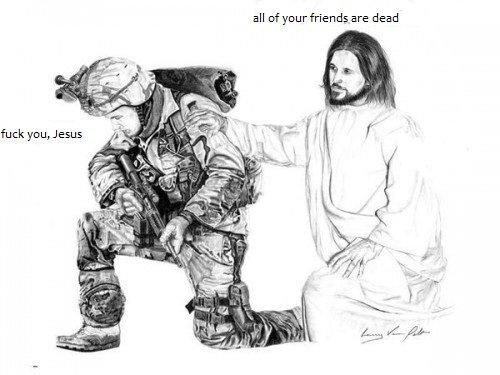 Soldier Jesus. .