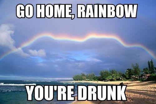 Somewhere over the Rainbow. .. This rainbow seems... oddly... familiar...