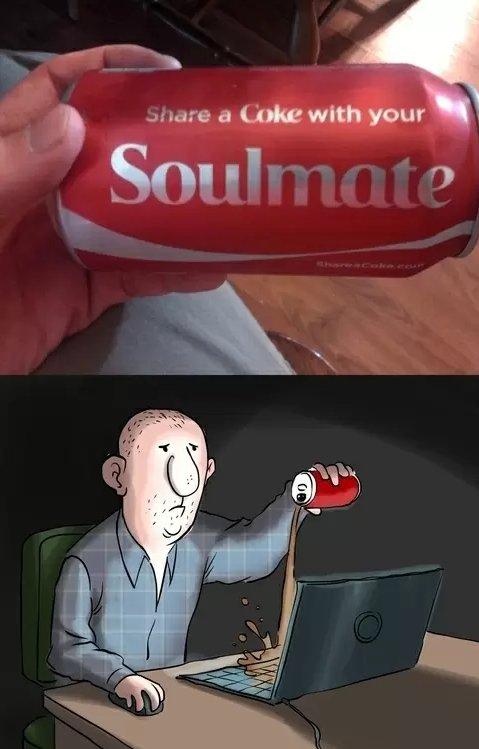 Soulmate. . coke soulmate Laptop computer