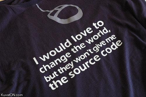 Source code. .
