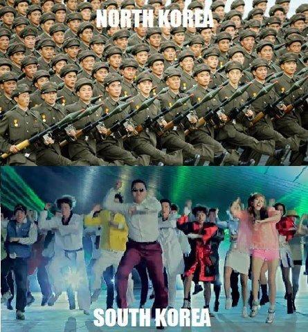 South Korea u so silly. .. MFW I realize those aren't rifles