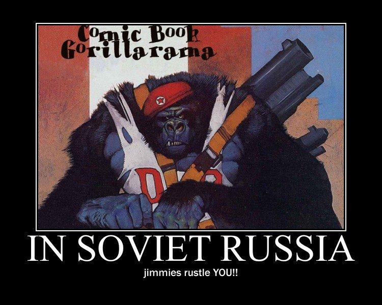Soviet jimmies. Even in Soviet Russia, jimmies get rustled.. jimmies rustle