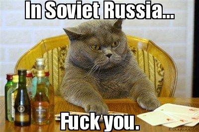 Soviet Cat by djskee - Meme Center
