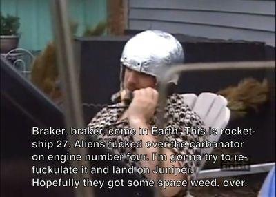 Space weed. .