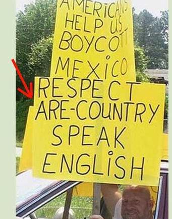 Speak english. .. Amuricans ur funee