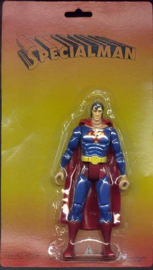 SPECIALMAN. gotta love knock offs. knock offs Superman fail