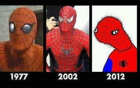 Spiderman. . 1977 k 2: 102 2012