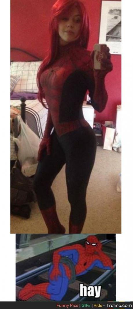 spiderwoman. .
