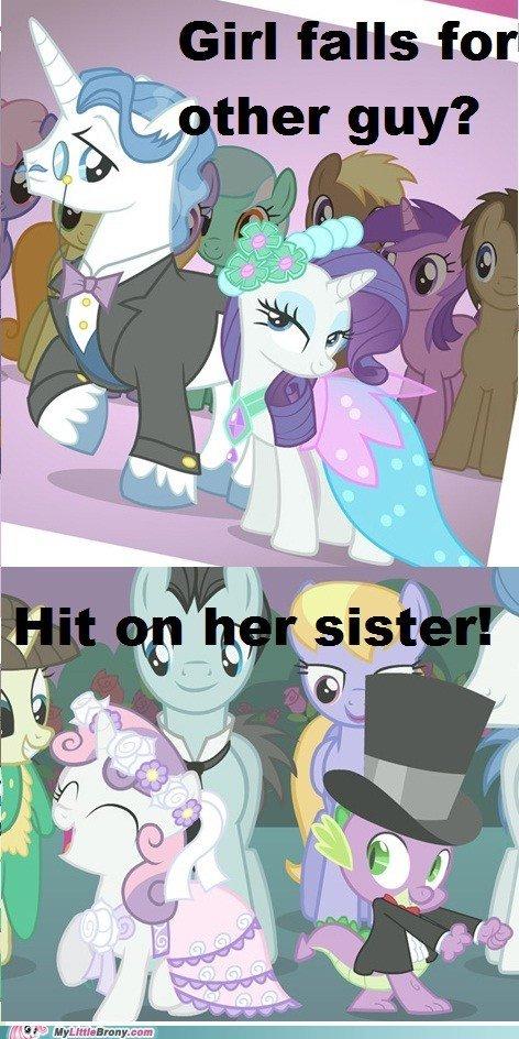 Spike's Swag. .. but.. but... Applebloom... :'(