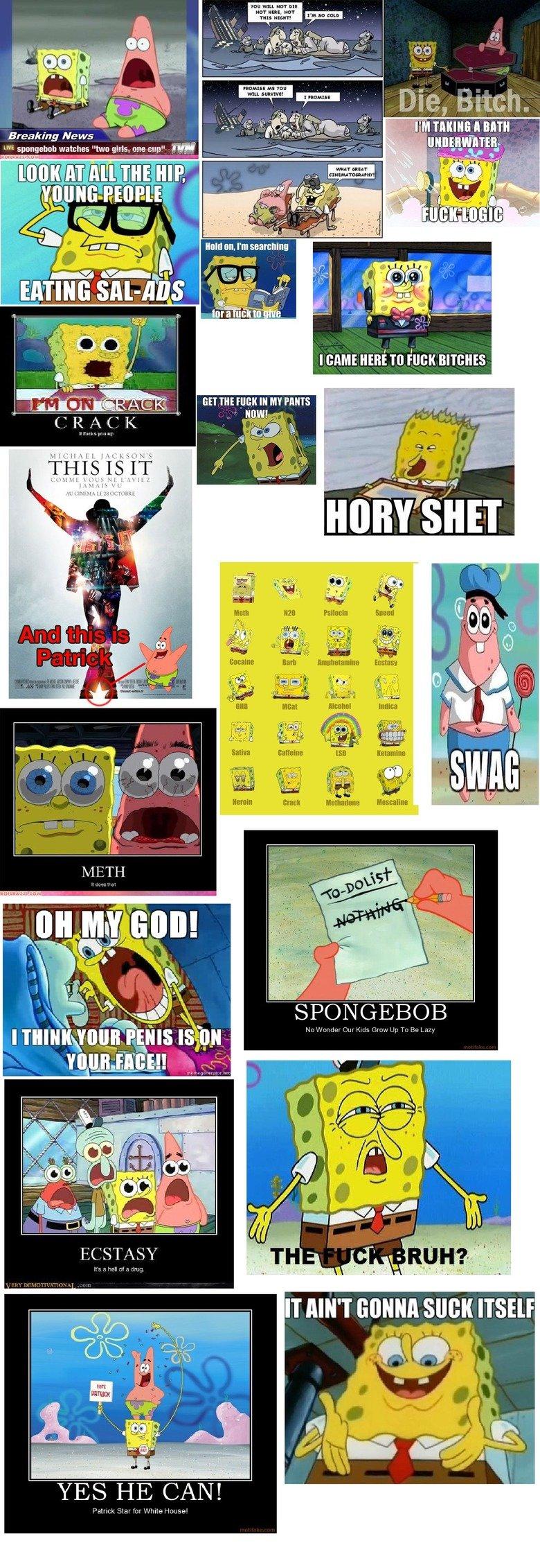 spongebob comp. .. dat white space spongebob comp