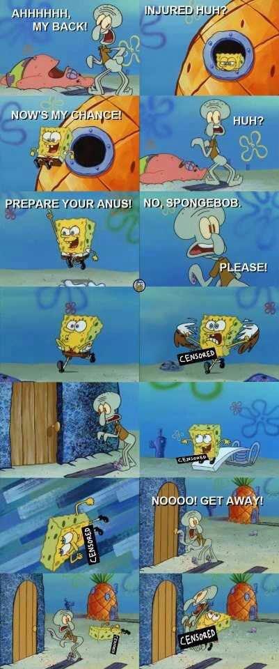 Spongebob. Found on Facebook.