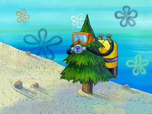 Spongebob logic. .. photorespiration is no laughing matter