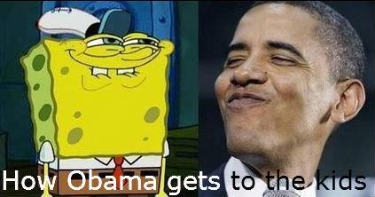 Spongebob to Obama. .