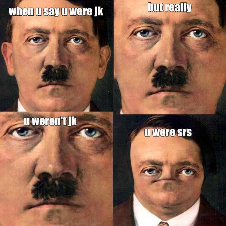 Srs. . tll m Elliot' . m Allt. Not Hitler anymore.