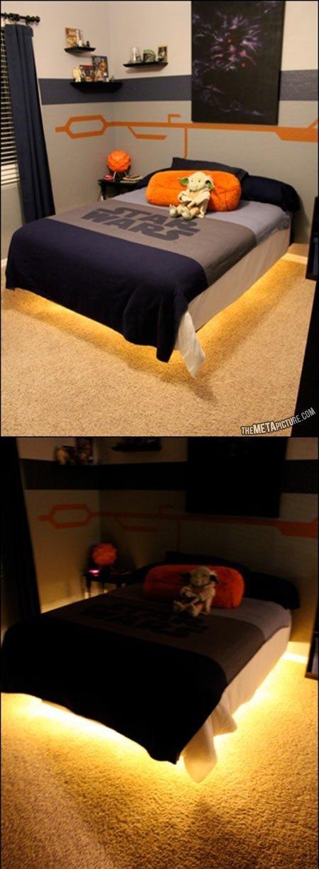 Star Wars Hovercraft Bed. .