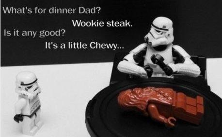 star wars jokes. . ii' y, , Llr, kirie. n Liitle Woollies , ts Cl little Chewyy