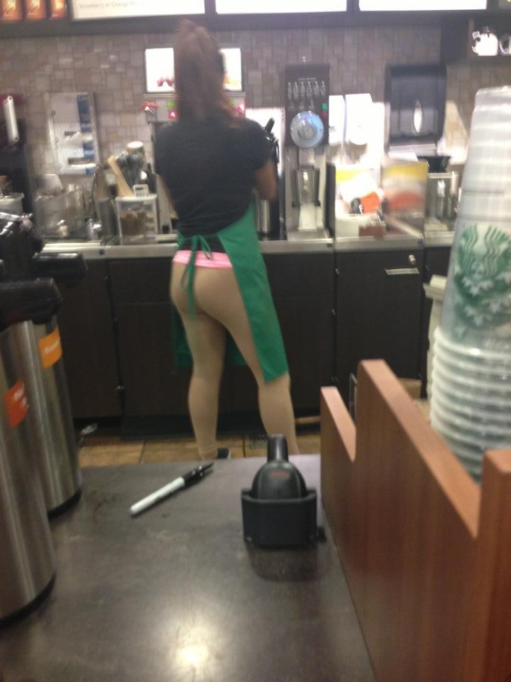 Starbucks doing it right. .. Starbutts
