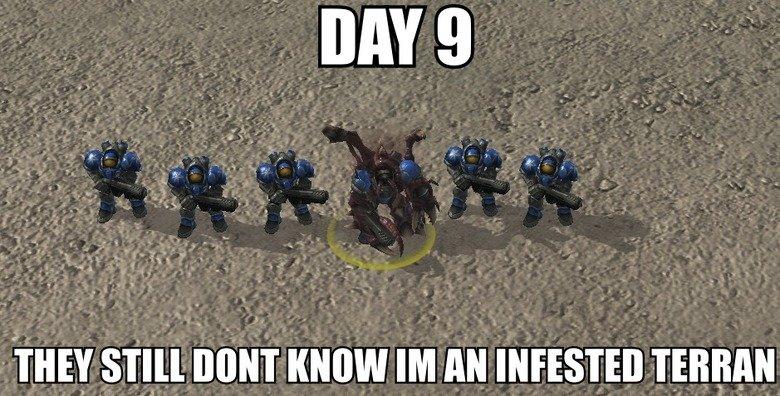 Starcraft.. OC =3.. Day 9. HueHue. tags