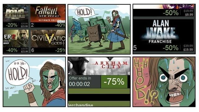 Steam Sales. .