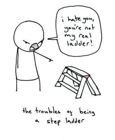 stepladders.. .