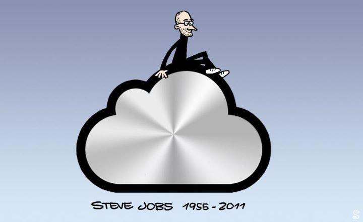 Steve, see you in iCloud. Steve, see you in iCloud. steve see you in iClou