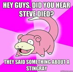 Steve.. . IKEY BUYS. BID WEE. Too Soon