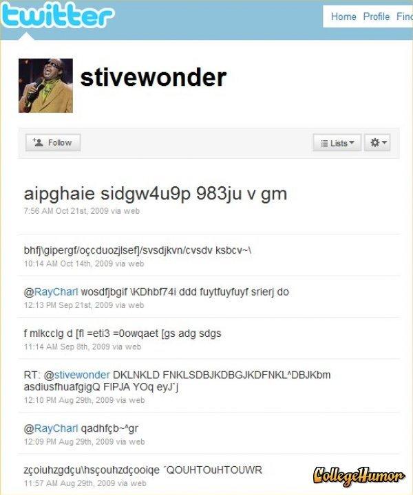 """Stevie Wonder. he's the man. Home Fin: V gm T.. 56 mu Der 21st. 2009 we wen Agif Mtl sreen"""" do cl [II eths gaet [gs attk sags 11 """"14 ptth HIDE! 'HE web FINA Yoq"""