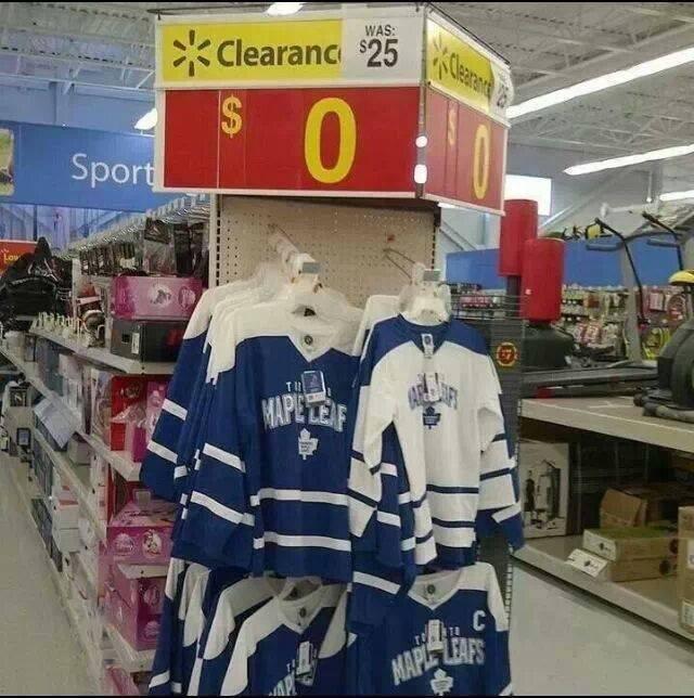 Still Not worth it. Leafs Suck!.. Better then an oilers jersey