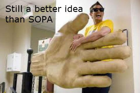 Still a better idea than SOPA. .. Still a better idea than SOPA