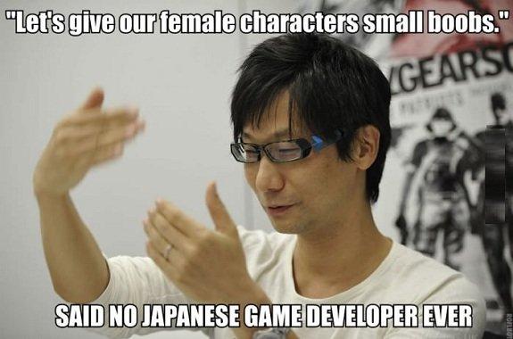Still... I can't complain. Boobs are great.. Gotta love Hideo Kojima.