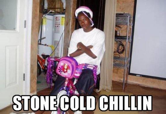 Stone Cold Chillin'. . fit' 5