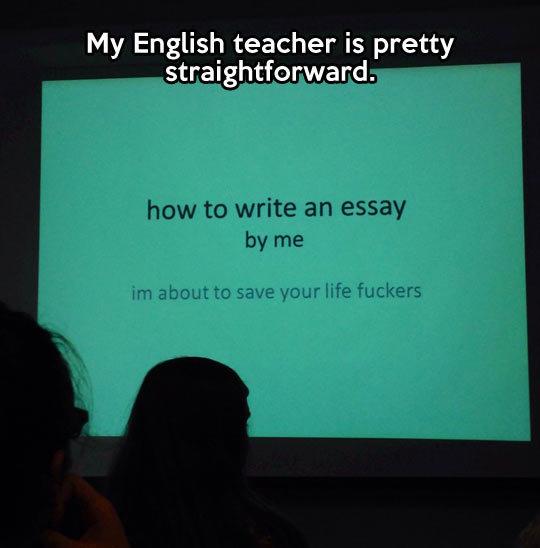 Straightforward teaching technique. Straightforward teaching technique… geniusquotes.net/inspirational-quotes/. My English teacher is pretty straightforward. ho